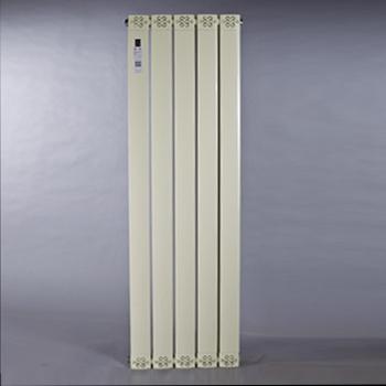铜铝复合散热器7575-140-鹅黄