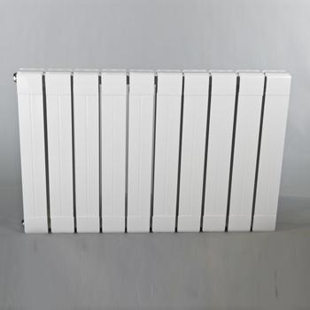 铜铝复合散热器7575-500-亮白