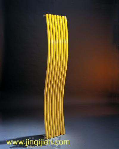 铝散热器适用于更单纯采暖系统,金旗舰铜铝复合散热器30年质保只换不修