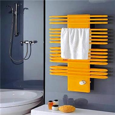 卫生间暖气片 金旗舰卫浴暖气片装修效果