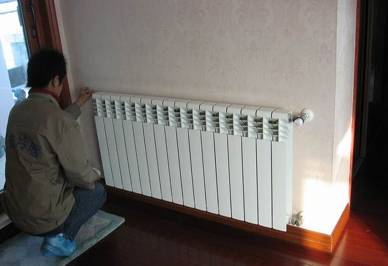 暖气安装效果图片