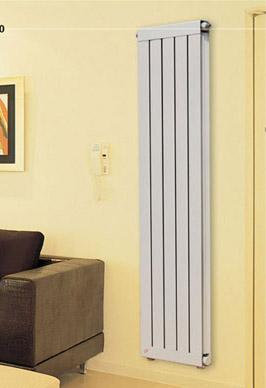 铜铝复合暖气片60x60卧室安装效果图