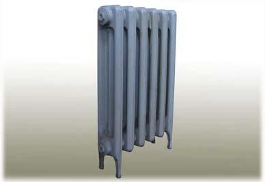 铸铁暖气片安装图