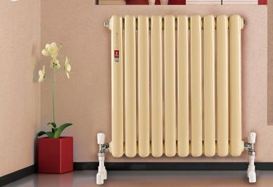 钢制暖气片安装效果图