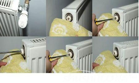 暖气片排气阀